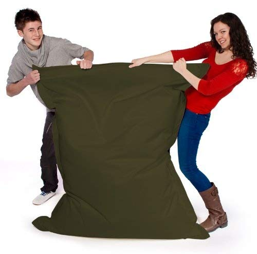 Big Brother Beanbags X-L funky bean bags, great for indoors or outdoors (AQUA) Beautiful Beanbags AQA-OD-SIS