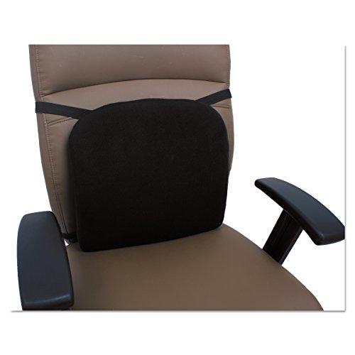 Cooling Gel Memory Foam Backrest, 14 1/8 x 14 1/8 x 2 3/4, B