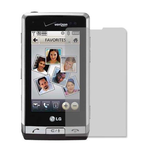 (LG Dare Screen Protector (VX9700), Skinomi TechSkin Full Coverage Screen Protector for LG Dare Clear HD Anti-Bubble Film)