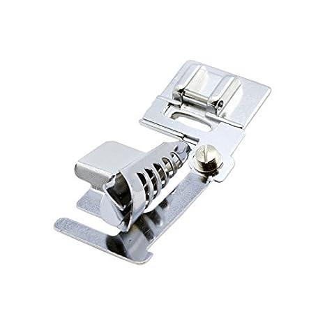 Alfa Prensatelas para alforzas, accesorio para máquina de coser, acero inoxidable: Amazon.es: Hogar