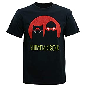 Jay and Silent Bob Men's Bluntman and Chronic T-Shirt | NEW COMEDY TRAILERS | ComedyTrailers.com