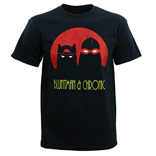 Jay and Silent Bob Men's Bluntman and Chronic T-Shirt 3XL]()