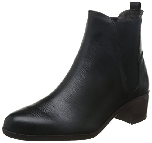 Women's By H Hudson Black Boot Compound Chelsea EUwvxq7