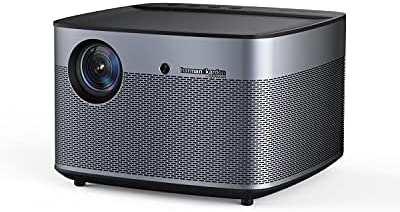 XGIMI H2 True 1080p Film Projector, 4K Supported Good Projector, 1350 ANSI Lumens Residence Theater Projector, Built-in Harman Kardon Sound Bar, Auto Focus, Auto Keystone Correction, Android OS