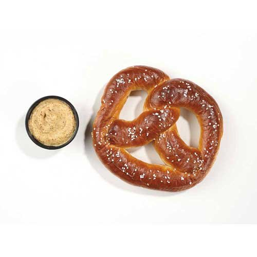 Super Pretzel Bavarian Sour Dough Soft Pretzel, 5.5 Ounce -- 40 per case. by J and J Snack