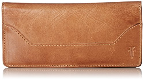 Melissa Continental Slim Wallet Wallet, Beige, One Size by FRYE