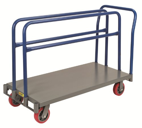 Little Giant APT-2448-6PY Adjustable Sheet and Panel Truck with 6'' Non-marking Polyurethane Wheels, 3600 lbs Capacity, 48'' Length x 24'' Width by Little Giant (Image #2)