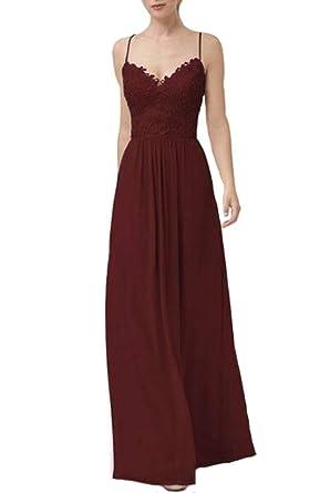 Kleid schwarz lang spaghettitrager