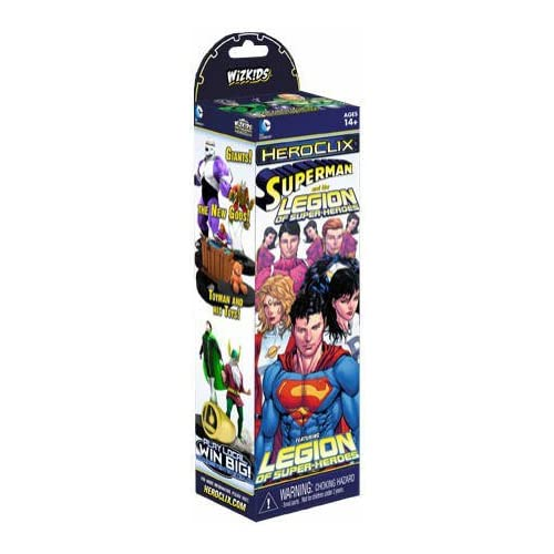 1 X Heroclix Legion of Superheroes Booster Pack by WizKids