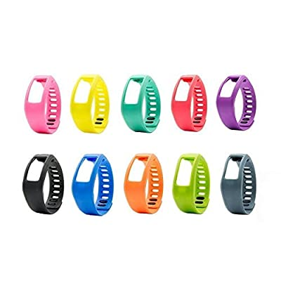 Large/Small Replacement Bands with Clasps for Garmin Vivofit 1 Smart Fitness Tracer Bracelet