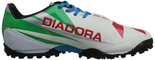 Diadora Dd-na 2 R Turf Scarpa Da Calcio Bianco / Verde / Rosso