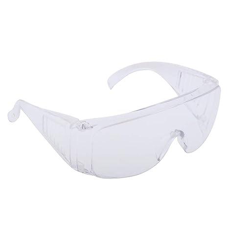 Homyl Gafas de Seguridad Antiniebla Caretas de Soldar Casa de Muñecas Herramientas Manual Decor - Transparente