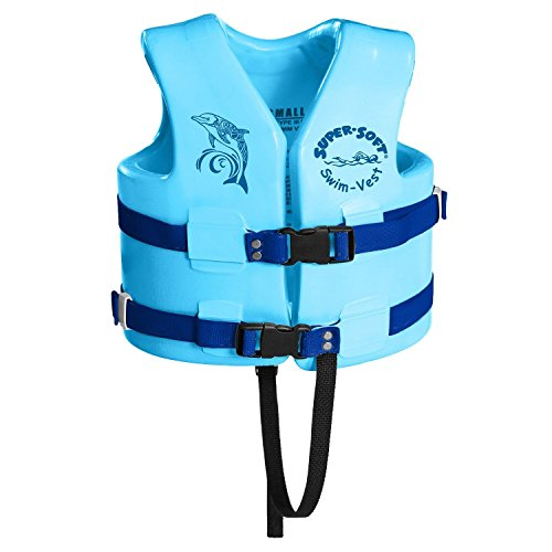 TRC Recreation Child Super-Soft USCG Vest, Marina Blue, (Recreation)
