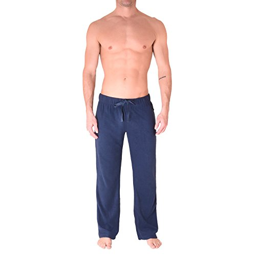 CHEROKEE Men's Fleece Pant, NAVY, L