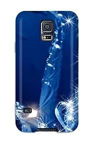 Galaxy S5 WJBDfwm2627uLTQu Flower Tpu Silicone Gel Case Cover. Fits Galaxy S5