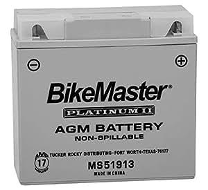 bikemaster agm platinum ii battery ms51913 for. Black Bedroom Furniture Sets. Home Design Ideas