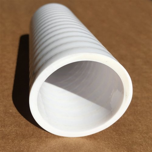 1-1/2'' x 100' - White Schedule 40 Tektube Ultra Flexible PVC Pipe - Made in The USA