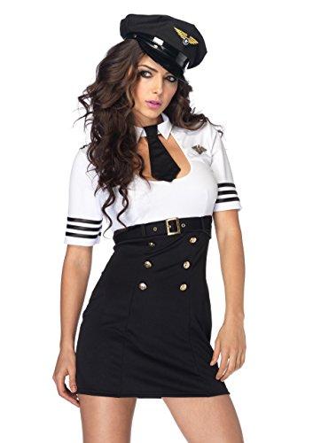 Leg Avenue Women's First Class Captain Pilot