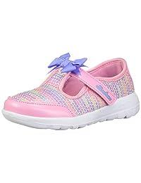 Skechers Baby-Girls GO Walk Joy-Sugary Sweet Sneakers