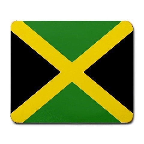 1 X Jamaica Flag Mouse Pad Electronics Computer Accessories ...