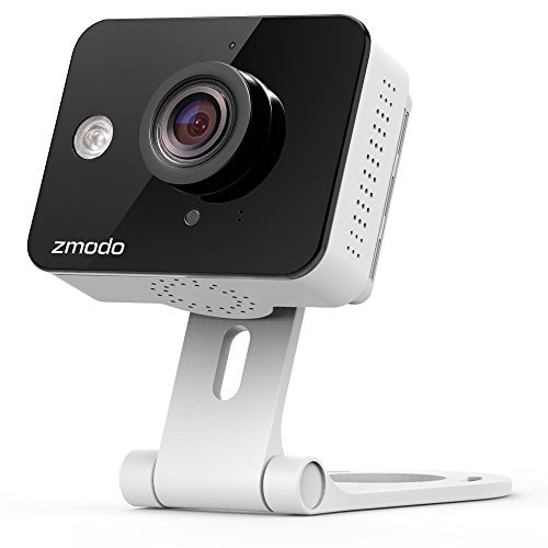 Zmodo Mini WiFi 720p HD Wireless Indoor Home Video Security Camera Two-Way Audio by Zmodo