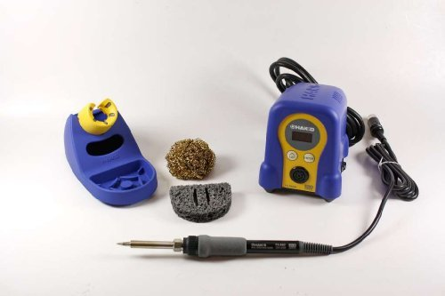 Hakko FX888D-23BY Digital Soldering Station FX-888D FX-888 (blue & yellow) (Best Cheap Soldering Station)