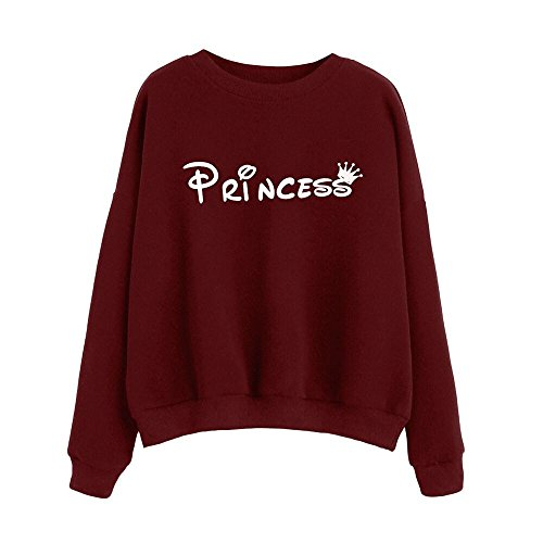 Kinghard Sleeve Blouse Sweatshirt Pullovers