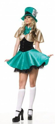 Tea Party Hostess Sexy Costumes (Tea Party Hostess Adult Costume - Small)