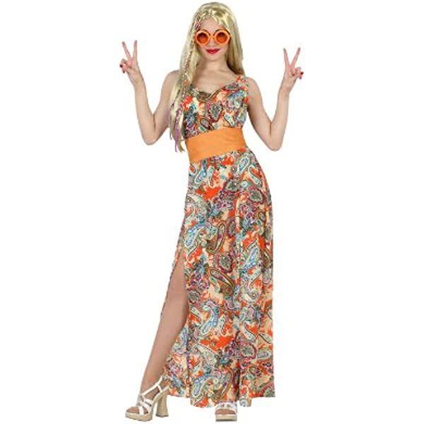 Atosa - Disfraz de hippie para mujer, talla M/L (22871): Amazon.es ...