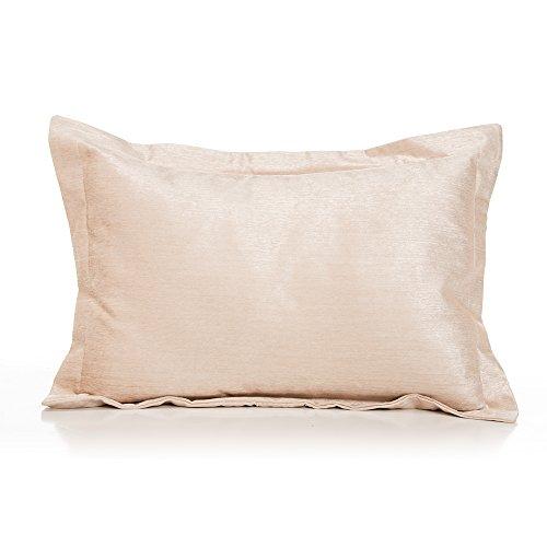 Glenna Jean Victoria Sham, Pink Faux Silk, Large ()