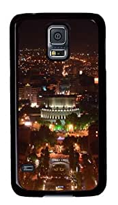 Samsung Galaxy S5 Case,Samsung Galaxy S5 Cases - Armenia Yerevan At Night Custom Polycarbonate Hard Case For Samsung Galaxy S5 - Black