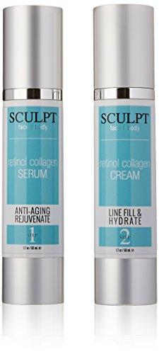 Sculpt Retinol Collagen 2-Part Kit, 1.7 oz each bottle