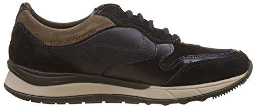 Stonefly Navy Bison Blu Sneaker Warren 5 Uomo Velour FqOFn