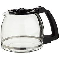 Capresso 4464.01 Jarra de vidrio de 10 tazas con tapa para cafetera CoffeeTeam GS