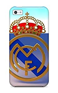 Oscar M. Gilbert's Shop Awesome Case Cover Compatible With Iphone 5c - Real Madrid Fc Logo