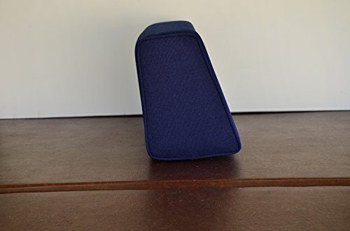 flexible Wedge Bolster with Cover (Navy Blue)
