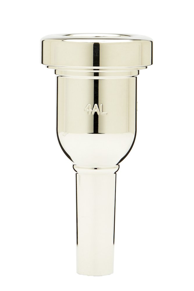Denis Wick DW6880-4AL Heavytop Silver-Plated Trombone and Euphonium Mouthpiece