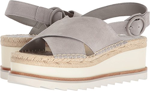 Marc Fisher LTD Women's Glenna Light Gray Suede 5.5 M US