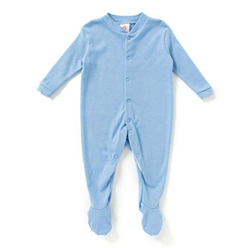 d6da48a5e Buy BABY SLEEP-SUITS SKY BLUE PACK OF 3 Online at Low Prices in ...