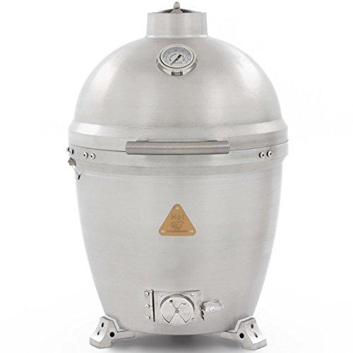 Blaze cast aluminum kamado grill blz 20 kamado buy for Aluminum kitchen cabinets saudi arabia