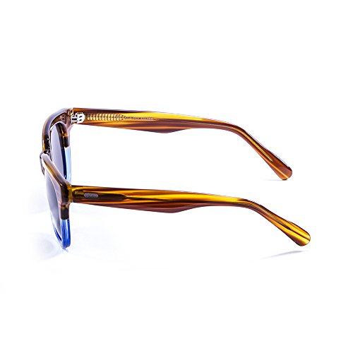 b054e4cf5d ... Ocean Sunglasses San Clemente Lunettes de soleil Brown/Blue Down/Smoke  Lens