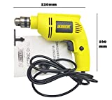 Cheston 10mm Powerful Drill Machine Reversible Variable Speed for Wall, Metal, Wood Drilling (Bits Included in Select Variations. Chose Below) (ONLY Drill)