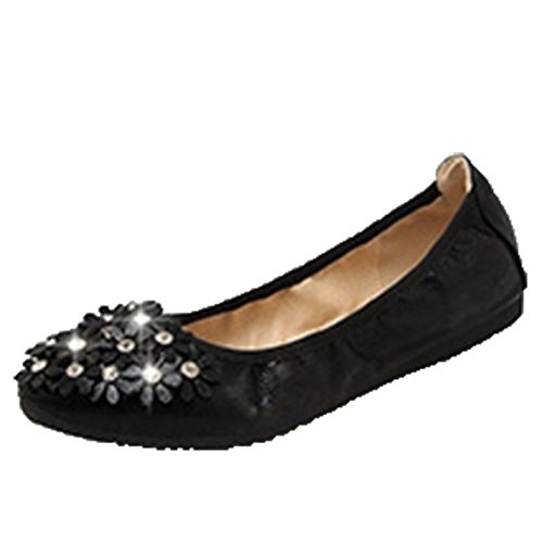 2 UK Ballet Black Size Women's Flats Opsun 8vf0wn
