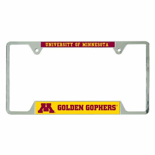 Minnesota Golden Gophers Metal (NCAA Minnesota Golden Gophers Metal License Plate Frame)