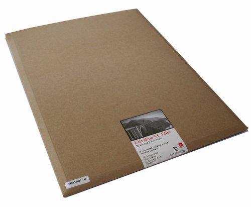 Ultrafine VC Elite変数コントラストRC光沢紙16 x 20 / 25シート   B00NP8U450
