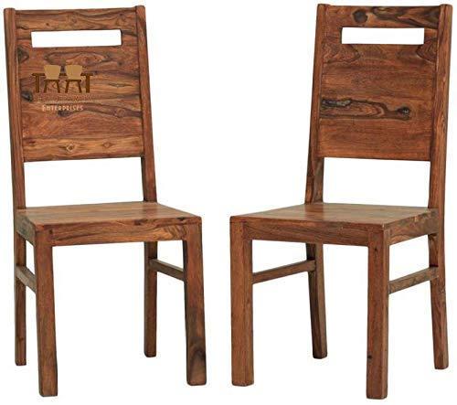 Varsha Furniture Solid Sheesham Wood Dining Chair | Study Chair | Multipurpose Chair  Dining Chairs, Honey Finish