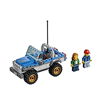 LEGO City Great Vehicles Dune Buggy Trailer: Toys & Games