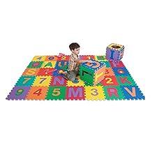EDUSHAPE EDU-706132 - Edu Tiles - Letters & Numbers Toy