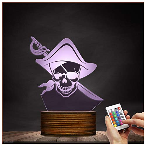 Pirate Led Night Light in US - 7