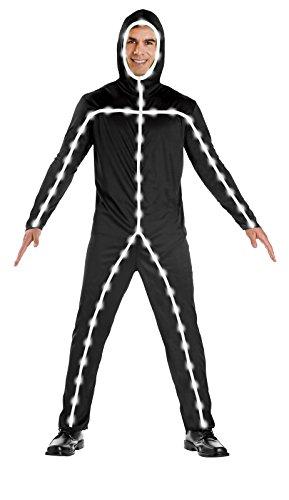 Light Up Stick Man Adult Costume -